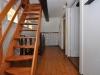 Treppenaufgang zum Dachboden